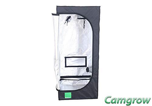 Budbox Lite Range - 40cm X 40cm Up To 1m X 1m Silver Mylar Grow Room Tents (LITE - 60x60x140)