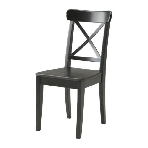 Ikea INGOLF - Presidente, marrón-Negro
