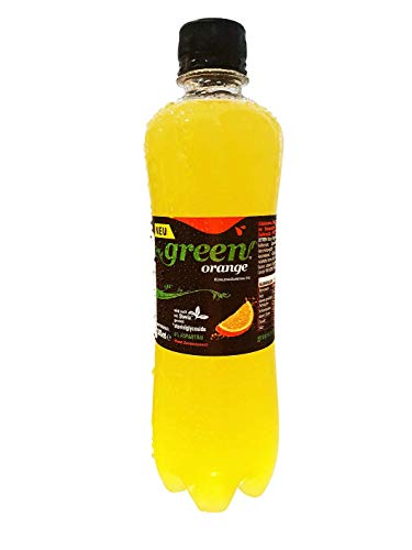Green Cola Orange - inkl.Pfand | 0,5L | Orange | Stevia | ohne Zucker | Buxtrade | 6 Flaschen