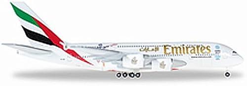 Herpa 527897 - Emirates Airbus A380 Cricket World Cup 2015, Miniaturfahrzeuge