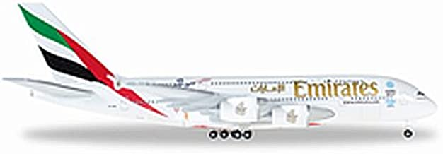 HE527897 Herpa Wings Emirates A380 1:500 Cricket World Cup 2015 Model Airplane
