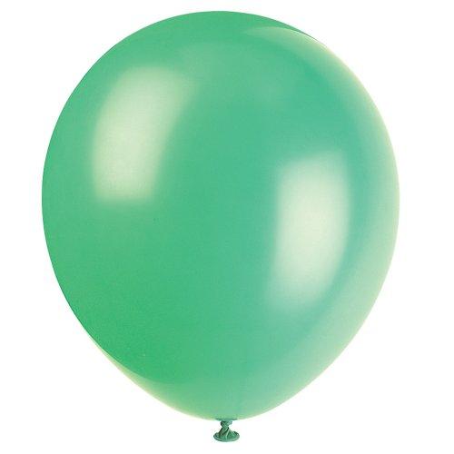 "12"" Latex Emerald Green Balloons, 72ct"