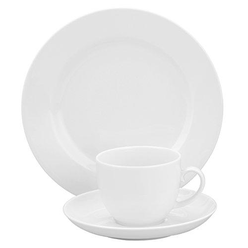 Seltmann Weiden 001.719978 Kaffeeservice 18-teilig Rondo, weiß