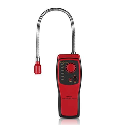 no-branded Brennbares Gas-Detektor-Anschluss Gas Analyzer Brennbare Gasleckortung Bestimmen Meter Tester Sound Light Alarm AS8800L XXYHYQHJD (Color : AS8800L, Size : Kostenlos)