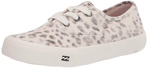 Billabong Women's Cruiser Slip-On Canvas Shoe Sneaker, Grey, 10 M US