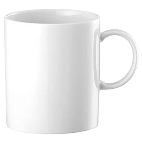 Thomas Rosenthal Sunny Day Becher mit Henkel - Henkelbecher - Kaffeebecher - Weiß - 300 ml