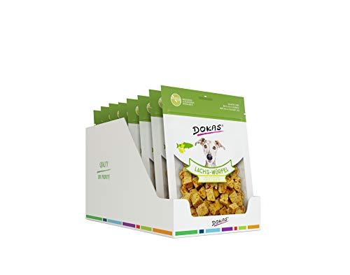 DOKAS Superfood-Würfel – Gefriergetrockneter Premium Snack für Hunde – Ideal zum Training