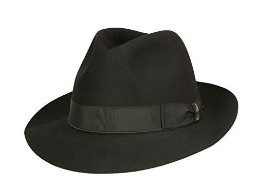 Borsalino Chapeau Fedora N° Art. 400001 Homme - noir 56