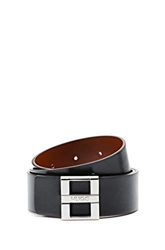 HUGO Damen Gürtel Zita Belt 3,5 Cm-Zl, Schwarz (Black 3), 100