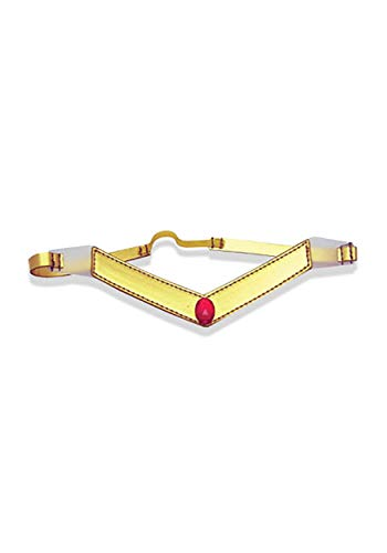 Sailor Moon Mars Tiara Costume Gold