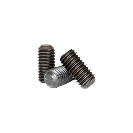 Socket Set Screw Cup Point 6 Grub//Blind//Allen//Headless Screw 6-32 x 5//16 Alloy Steel Quantity: 100 Coarse Thread Hex Socket Length: 5//16 inch Black Oxide