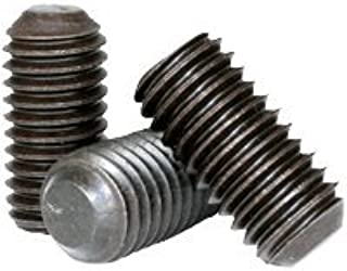 "KNURLED Cup POINT Socket SET SCREWS Qty 10 #8-32 x 3//4/"" Alloy Black Oxide"