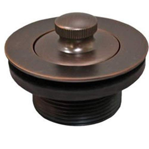Wood Grip Universal Conversion Kit Bathtub Tub Drain Assembly, All Brass Construction (Oil Rubbed Bronze) Plus Removal Tool