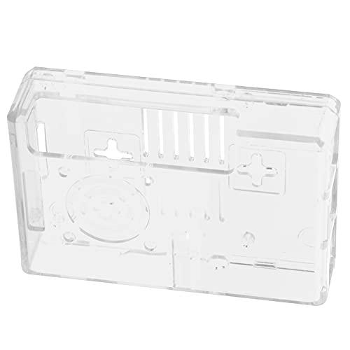 Wosune Carcasa para Raspberry Pi, Buena Durabilidad Estilo conciso con Tornillos Estuche Protector para Raspberry Pi Fácil Uso para Productos electrónicos para Hombre(Transparente)