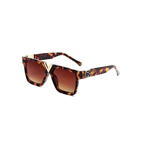 HHAA Gafas De Sol Cuadradas De Moda, Gafas De Sol Clásicas De Diseñador para Mujer, Gafas De Conducción Vintage, Gafas De Sol De Lujo para Mujer