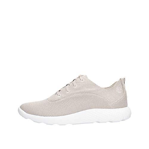 Timberland A1ZUN FLYROAM hellgrau graue Schuhe Herren Sneakers leichte Schnürsenkel 45