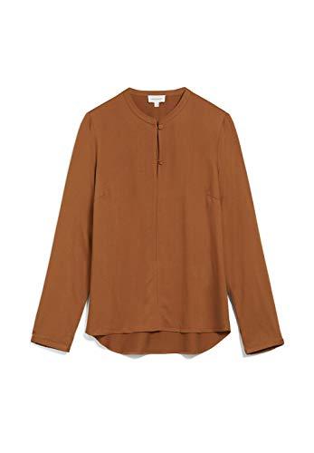 ARMEDANGELS FREYAA - Damen Bluse aus LENZING™ ECOVERO™ L Ginger Bluse Langarm Regular fit