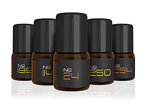 5 Original Nitro Musk Creations of Creed Cologne for Men, Creed Aventus, Green Irish Tweed, Silver Mountain Water, Spice & Wood, & Neroli Sauvage, Cologne Samples, Pure Oil Cologne, by Musk & Hustle