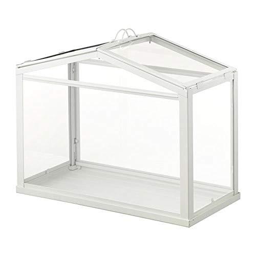 Invernadero IKEA Socker, tamaño mini, de mesa, con marco de acero para interior