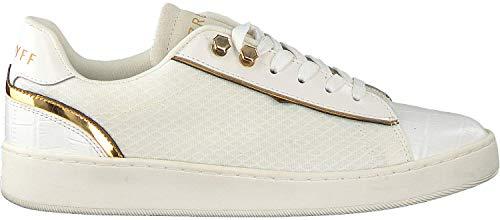 Cruyff Challenge wit goud sneakers dames