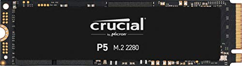 Crucial P5 2TB CT2000P5SSD8 SSD Interno-Fino a 3400 MB/s (3D NAND, NVMe, PCIe, M.2, 2280SS)
