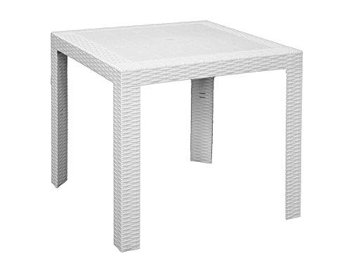 Areta ARE053 Saturno Table Blanc 80 x 80 x 72 cm