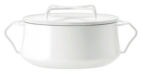 DANSK ダンスク コベンスタイル 両手鍋 18cm 2.2L IH対応 ホワイト オーブン対応 ホーロー 833299