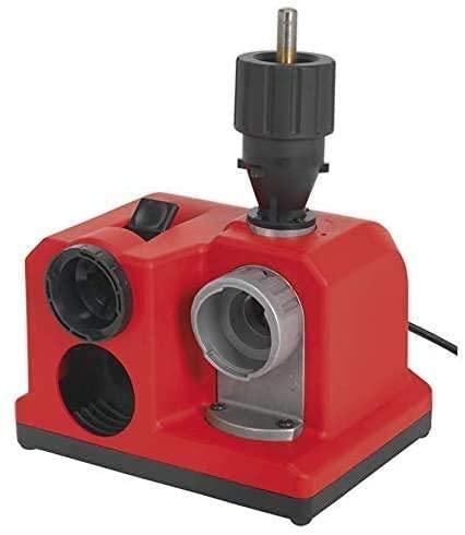 Affûteur de foret électrique 85 W pour perceuse de montage d'établi (3-13 mm, mandrin amovible, disque diamant, disque à came intégré)