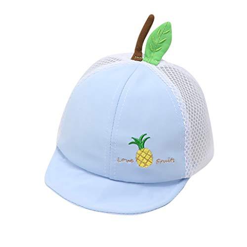 Julhold Niños Sombrero de protección solar de impresión encantadora sombrilla sombrero de protección solar gorra bebé moda verano accesorios casuales