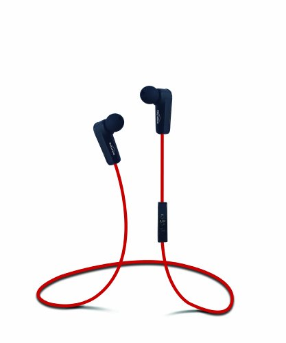 New RED Sports Stereo Bluetooth 4.0 Wireless Bluetooth Headphones Headset for Apple Samsung Nokia HTC Google Sony Toshiba Panasonic Smart Cell Phone and Tablet -Bluetooth 4.0 Red Color