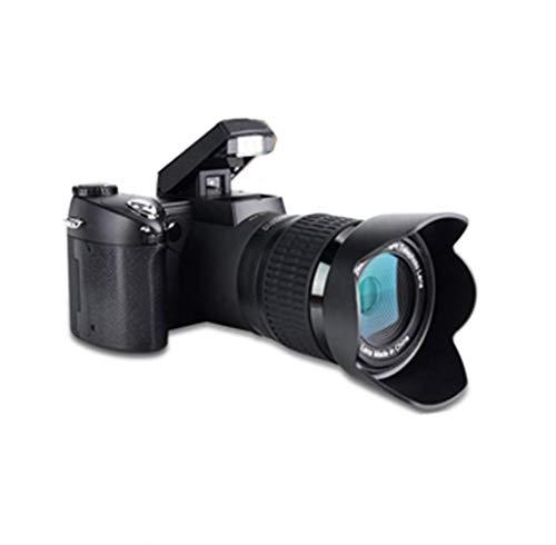 Oumij Camera Digitale Fotocamera Digitale Compatta Schermo LCD TFT da 3,0 Pollici 8X Zoom Digitale Standard+0,5X Grandangolo+16~24X Zoom Teleobiettivo Obiettivo FHD 1080P Videocamera