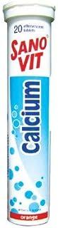 Sano Vit Calcium Orange Flavour, 20 Tablets
