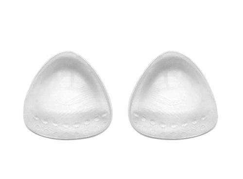 Sodacoda Damen Silikon BH Einlagen 190g/Paar - Dreieckig und Push-Up - Transparent