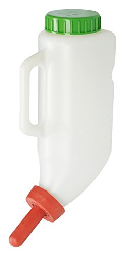 Kerbl 14255 Futterflasche inklusiv Milchsauger, 2.5 L