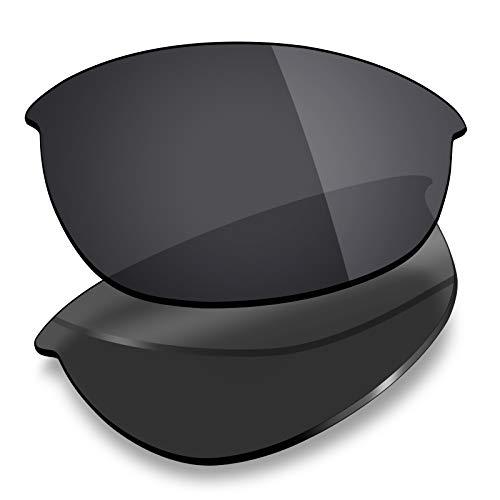 Mryok - Lentes de repuesto para Oakley Half Jacket, Negro (Polarized - Stealth Black), Talla única
