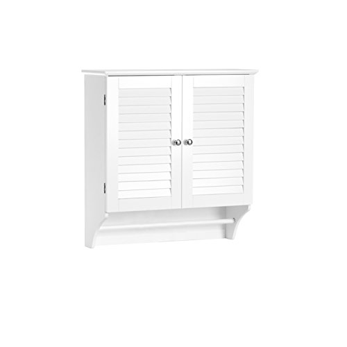 RiverRidge Ellsworth Collection-2-Door Wall Cabinet, White