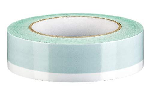 Colorus Profi Duoband 35 mm x 25 m | Dubbelzijdig plakband met kleefvrije zone | Dubbelzijdig plakband extra sterk klevend | plakband voor binnen en buiten | plakband voor afdekfolie en masker