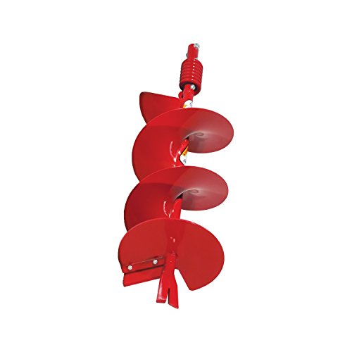 Earthquake EA10F 10-Inch Diameter 36-Inch Long Earth Auger with Fishtail Point and Flex Coil Shock Spring