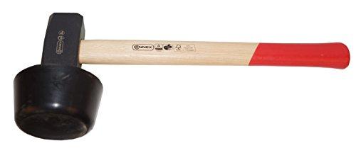 Connex Plattenverlegehammer 2400 g Holzstiel / Hammer / Schonhammer / Pflasterhammer / Werkzeug / COX622256
