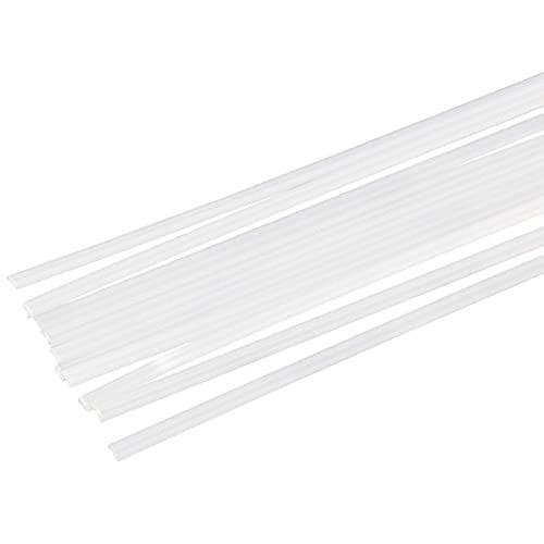 SHHMA Plástico Varillas De Soldadura Material PP, Adecuado para Soldadura De Láminas De Plástico PP,Blanco,1KG