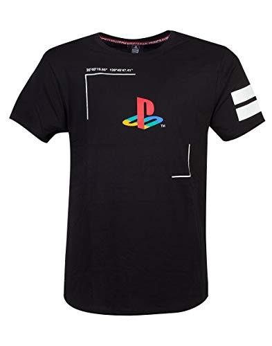 Playstation Japanese Symbols Männer T-Shirt schwarz XXL 100% Baumwolle Fan-Merch, Gaming