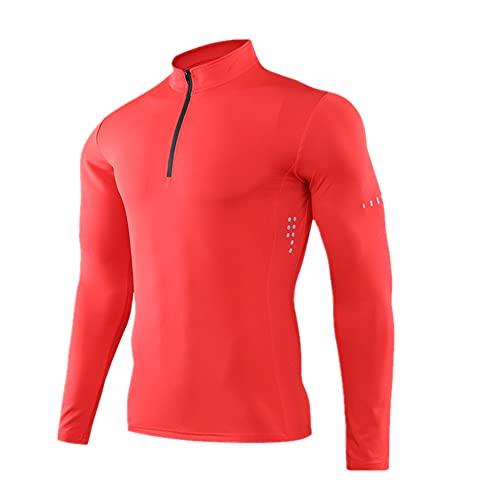 Hombres Apretado Deporte Camiseta Manga Larga Gimnasio Running Ropa Fitness Compresión Ropa Deportiva