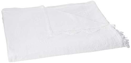 Why Should You Buy Abigail Adams Matelasse Bedspread – Queen – White