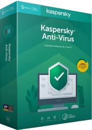 Kaspersky Anti-Virus 2020 | 3 Gërate | 1 Jahr | Flatpack|3 Geräte Standard - 1 Jahr|3 Gërate|1 Jahjr|Windows PC & Tablet | Mac OS|Download|Download