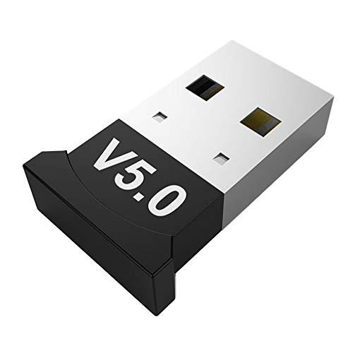 TOPBESTOR Adaptador USB Bluetooth 5.0 Transmisor Receptor Bluetooth Adaptador USB inalámbrico Adecuado para computadora de Escritorio portátil