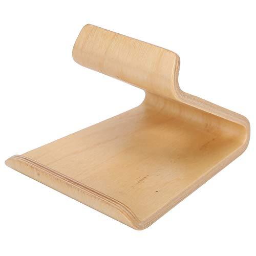 Jimfoty Soporte de teléfono móvil, soporte de teléfono móvil, soporte de tablet de PC de madera para Home for Office