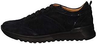 BRIAN CRESS BY CAMPANILE Scarpe Sneakers Uomo X8 Pelle Blu Originale AI