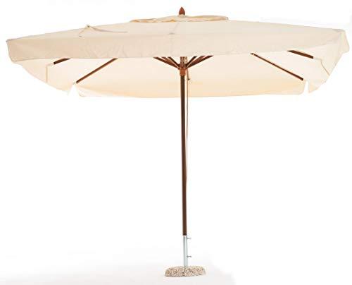 ombrellone da giardino 5 metri sal mar Telo di Ricambio per ombrellone Oasis 3x4 Metri Colore Ecru