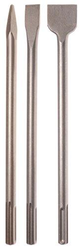 Projahn 844002 Meißel-Set Eco SDS-max 3-tlg. / Satz zum Trennen und Bearbeiten von Beton-/Mauerwerk / in Kunststoffbox / für Ab-/Durchbrucharbeiten und schwere Abrissarbeiten / optimale Standzeiten