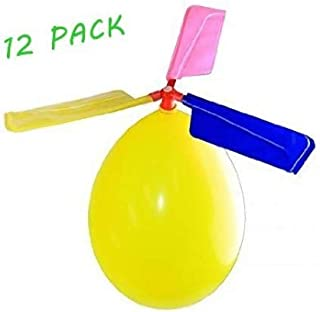 BAIVYLE Kids Toy Balloon Helicopter (12 pack)Children's Day Gift Party Favor easter basket stocking stuffer or birthday!